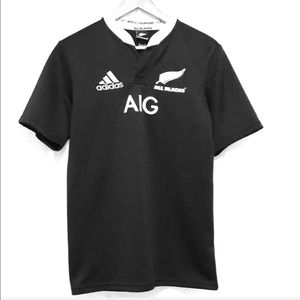Adidas All Blacks Embroidered T Shirt Size S